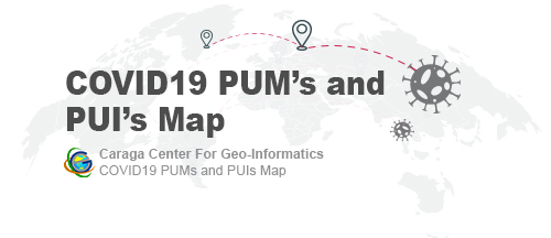 CCGeo COVID-19 PUI and PUM Map
