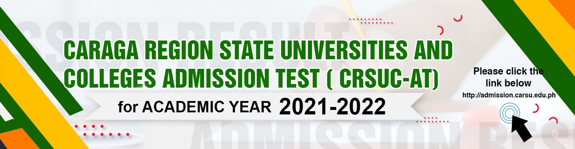 Caraga Region State Universities and Colleges Admission Test (CRSUC-AT)