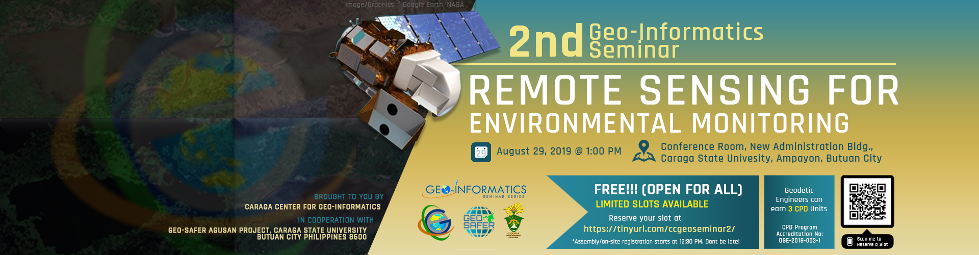 2nd Geo-Informatics Seminar on Remote Sensing for Environmental Monitoring