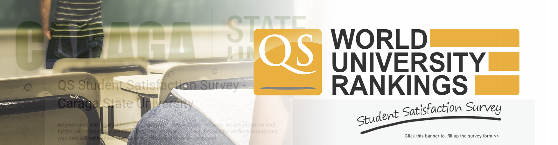 Click to fill up QS Stars Student Satisfaction Survey Form