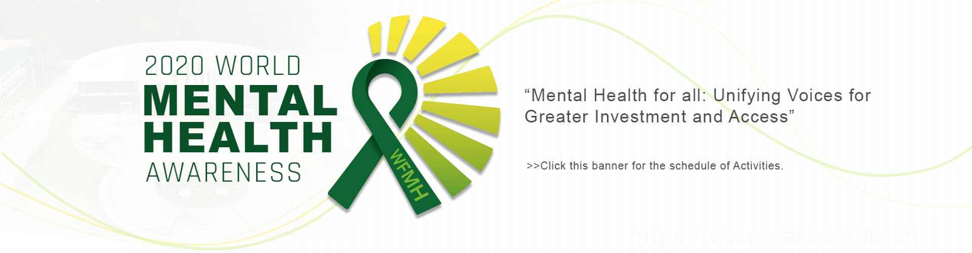 World Mental Health Awareness 2020