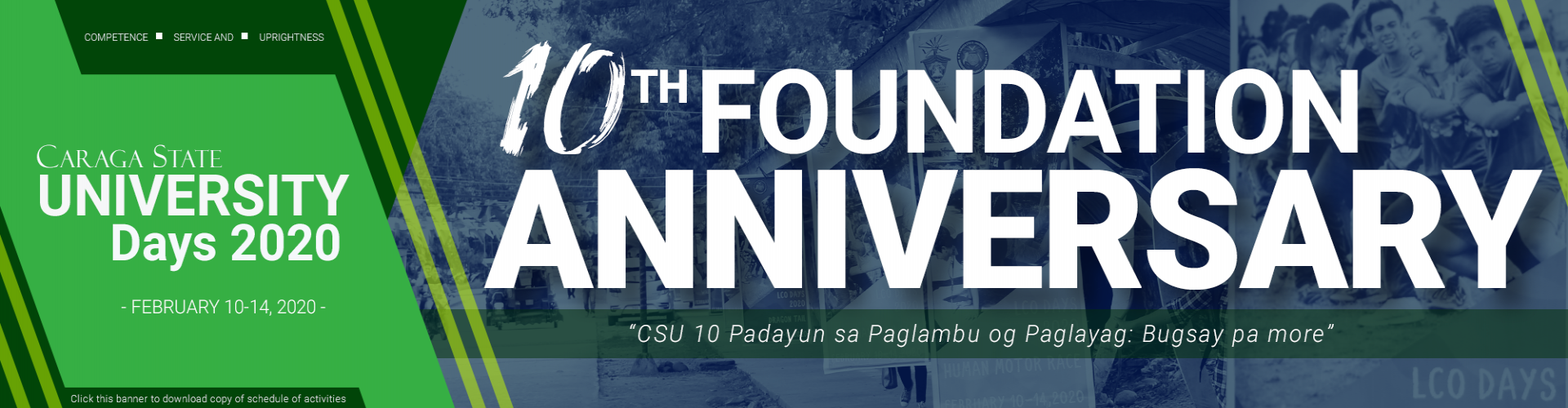 CSU 10th Foundation Anniversary 2020