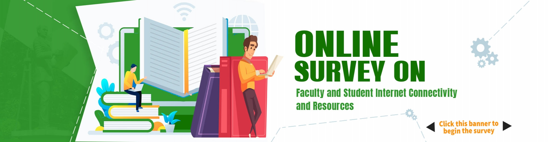 Online Survey on Faculty and Students Internet Connectivity and Resources