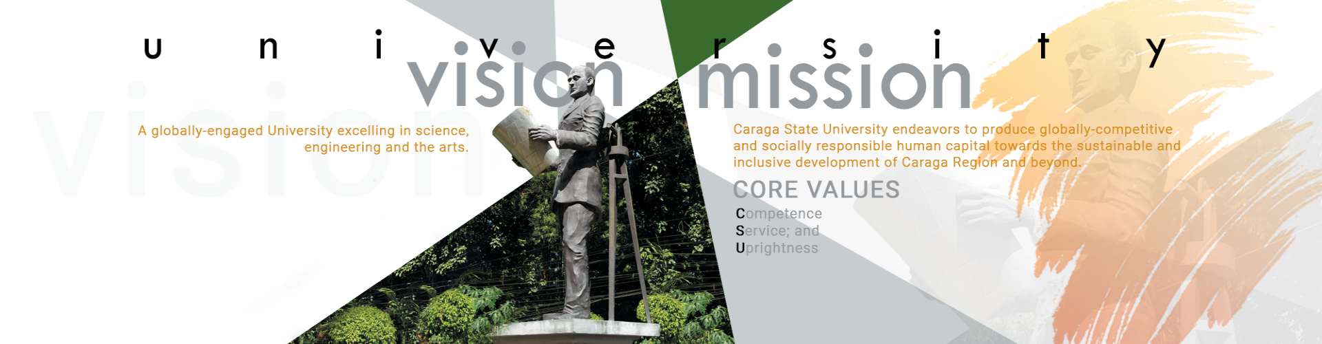 CSU Vision, Mission and Core Values