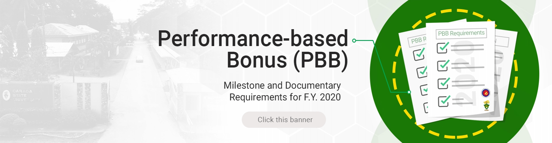 Performance-based Bonus (PBB) Milestone and Documentary Requirements for F.Y. 2020