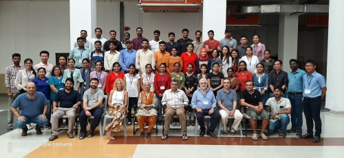 Participants from Laos, Iran, Indonesia, Myanmar, Philippines, and India with speakers from Europe and India.