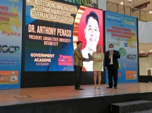 CSU President Scores Awards in 2020