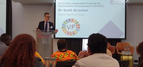 Dr. Scott Strachan, Senior Teaching Fellow at the University of Strathclyde, Glasgow, United Kingdom.