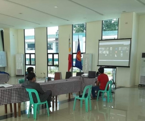Dialogue and Forum for Ongoing and Incoming 2021 Projects via Google Meet last September 22, 2020 with the Vice President for Administration and Finance Dr. Armie Leila M. Mordeno