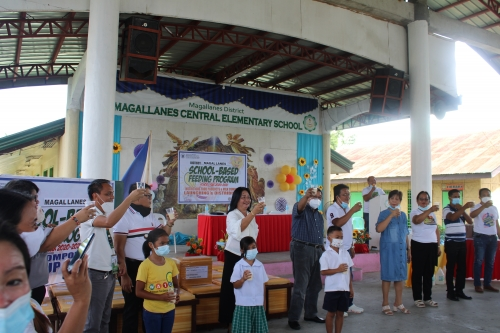 CSU Partners with DepEd and CMU-PCC for Milk Feeding Program