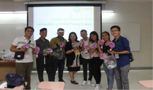 CSU Students Attend Training in Thailand