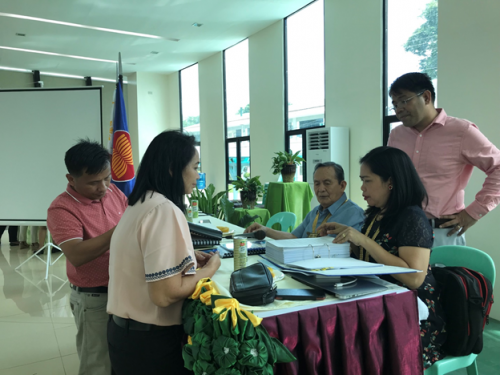 AACCUP President Corpus Assess CSU Readiness for Institutional Accreditation