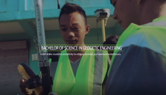 Bachelor of Science in Geodetic Engineering