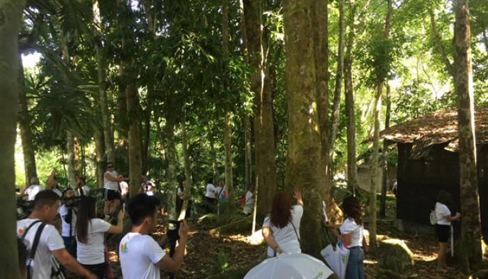 2019 Balik-Butuan Butuanons Plant and Hug Trees in CSU