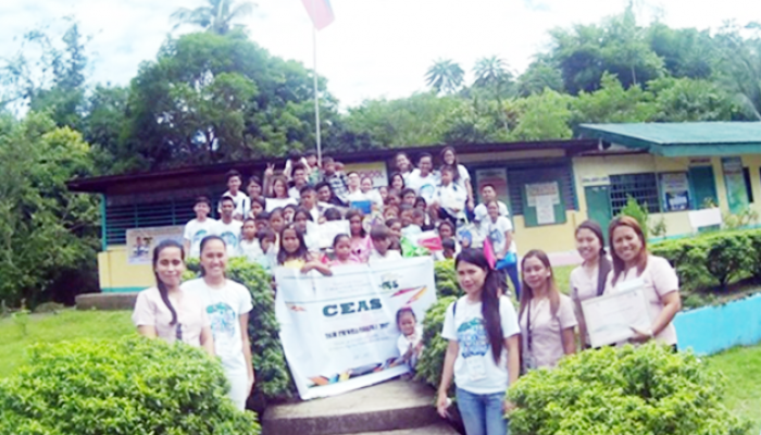 CSU-CEAS Gives School Supplies to Dalao-an Elementary School Students