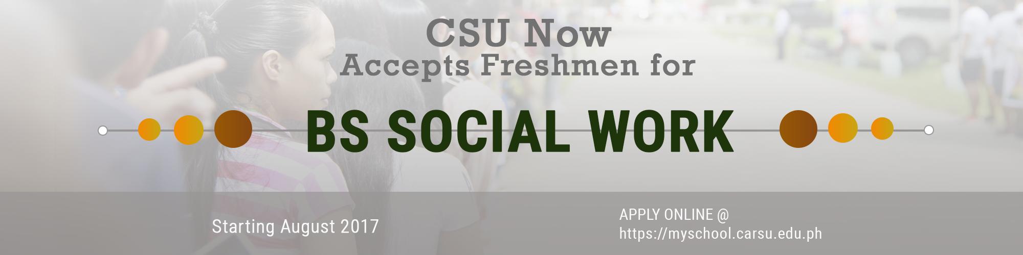 CSU BS Social Work