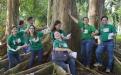 CSU Alumni Advocate Forest Bathing, Tree Hugging, and Trash Picking