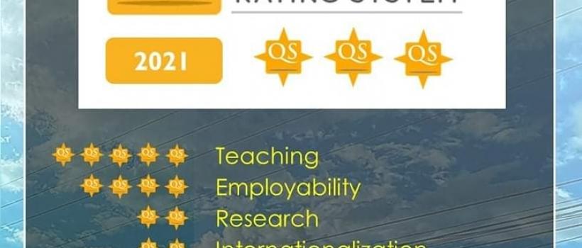 CSU is now a Quacquarelli Symonds (QS) 3-Star Institution