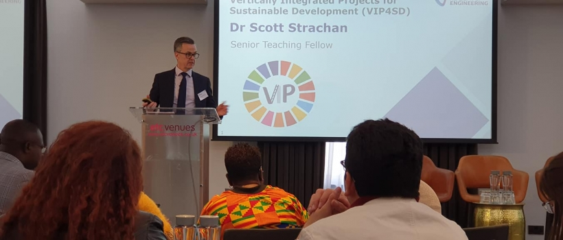Dr. Scott Strachan, Senior Teaching Fellow at the University of Strathclyde, Glasgow, United Kingdom.