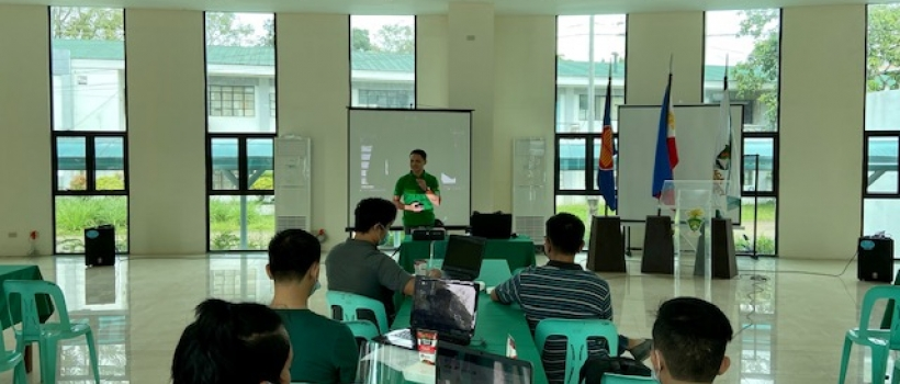 PICO with the UPress, MIS, CCIS and OVPAA Hold Workshop on Branding and College Website Maintenance