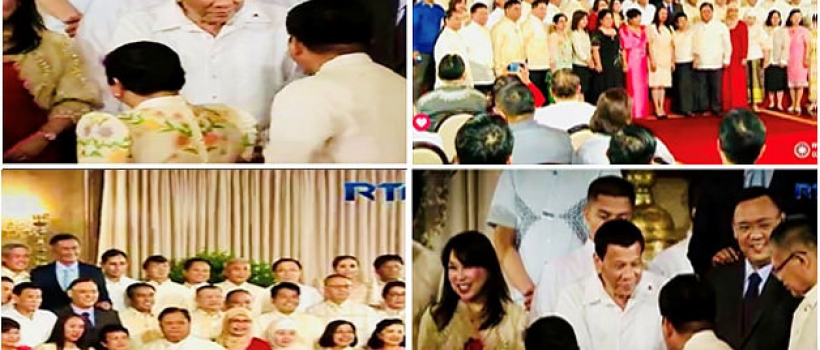 CSU President Penaso joins other SUC Presidents on MOA signing in Malacañang