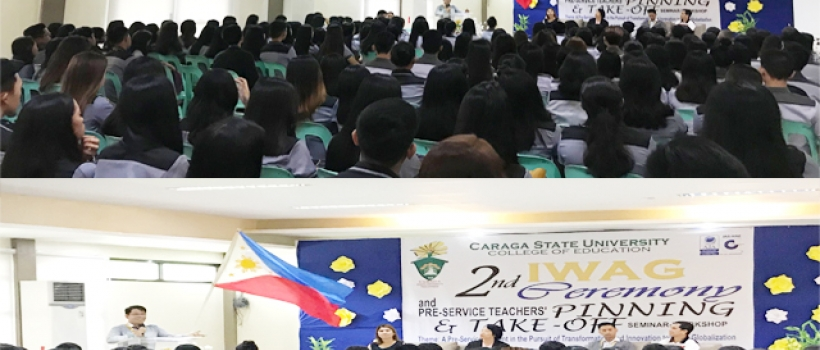 CSU-CEd Send-off 283 Teaching Interns in Various DepEd Schools