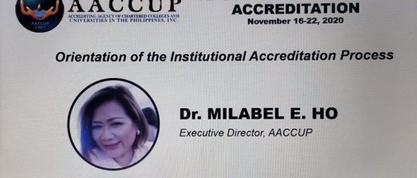 CSU Braces AACCUP's Institutional Accreditation