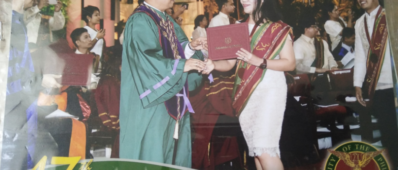 CSU's Envi Sci Faculty 2nd Top in Academic Achievement Award at UPLB's 2019 Graduation Ceremony