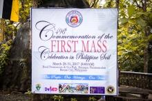 496th First Mass Celebration