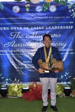 President Penaso receives Magkuno Lifetime Achievement for Leadership Award from CASUC