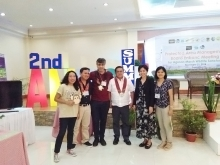 Environmental Science Faculty Present Environmental Studies in Agusan Marsh Summit