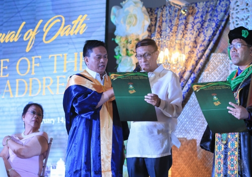 Renewal of Oath and State of the University Address 2019