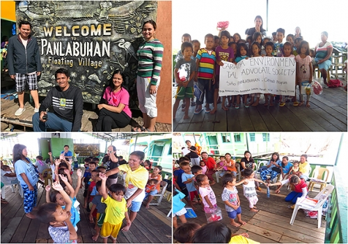 CRÈME and CEAS gave school supplies to Panlabuhan Elementary School