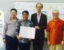 MSM Netherlands awards a Fellowship Grant to CSU President Penaso